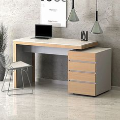 Study Table Designs, Office Table Design, Office Interior Design, Office Interiors, Study Room Decor, Home Office Desks, Furniture, Home Decor, House