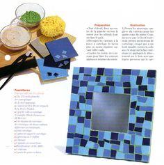 [Carrelage] Le miroir en mosaïque - La Boutique du Tricot et des Loisirs Créatifs