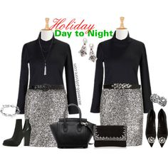 """""""Plus Size - Holiday Season Sequins"""" by alexawebb on Polyvore"""