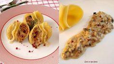 Vamos a comer pasta. La rellenamos de champiñones, nueces y queso gorgonzola. #RedFacilisimo