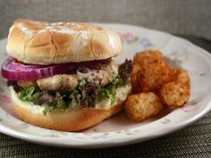 This is one tasty burger-love the cran/ketchup sauce!