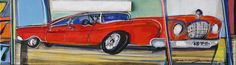 José Gonçalves •Carrinho IV [Toy Car IV]•10 X 35.5 •Multilayered Mixed Media Canvas // 408.888.1500 //jcos.hello@gmail for acquisition info