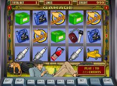 Play the slot machine Garage for money.    Igrosoft Company dedicated gaming machine Garage all motorists. It has 5 reels, 9 paylines and a wild symbol. Players will be pleased with just two independent bonus games, as well as a round of doubling.  Garage slot has an interesting visual and audio support, which allows him to