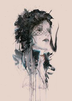 The Woman in Black on Behance