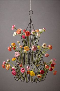Spring-wedding-decor-anthropology-chandelier-with-bright-wedding-flowers.full