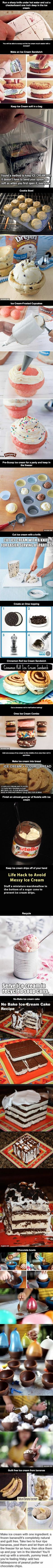 TIPS 4 the next Ice Cream Party: Ice Cream Hacks That Will Take Your Life to the Next Level