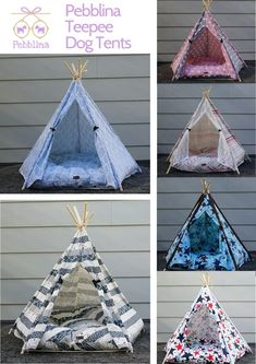 Let your furbaby sleep like a king or queen in Pebblina's dog teepee tent beds. Not only are they super cute but they are also super comfy! Cute Dog Beds, Pet Beds, Cute Dogs, Dog Tent Bed, Teepee Bed, Dog Rooms, Mid Century Modern Furniture, Doggies, Fur Babies