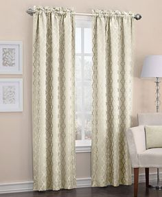 "miller curtains winston 40"" x 84"" energy saving panel 