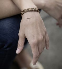 Temporary Tattoo - Micro Geometric Shapes www.youngandsmitten.com