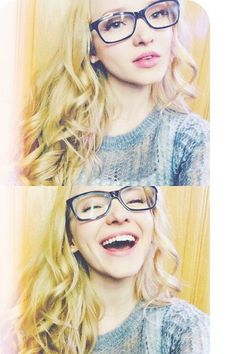 Dove Cameron in her glasses!