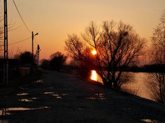 Partizani, Delta Dunării Danube Delta, Celestial, Sunset, Outdoor, Sunsets, Outdoors, The Great Outdoors, The Sunset