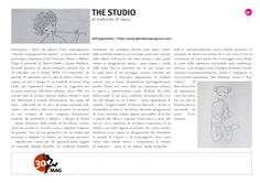 Rassegna Stampa: Gabriella D'Amico per 30 Mag.