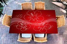 Table Decals – Mulled wine