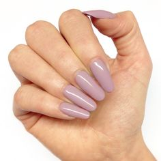 Nude taupe pink nails