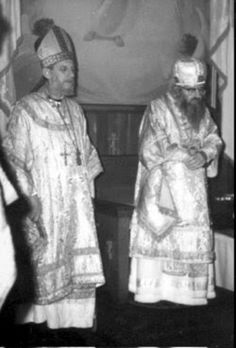 St John at the consecration of Bishop Jean-Nectaire (Kovalevsky) of Paris - the first known Western Orthodox bishop since the schism of the century 10 Film, A Thousand Years, Saint Gregory, Religion, Saint Jean, 11th Century, Saints, Westerns, Catholic