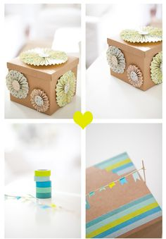 DIY: pretty gift box (video)