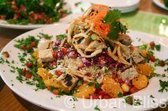 Thai Chikin' Salad ~ Veggie Grill vegan goodness comes to Portland!