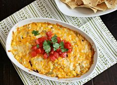 Cheesy Mexican Corn Dip by Southern Pink Lemonade, via Flickr