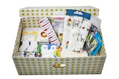 in keeping with the finnish baby box idea.