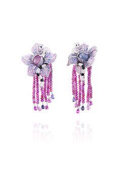 Van Cleef & Arpels Makis earrings, Les Voyages Extraordinaires™ collection