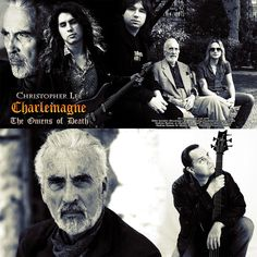 My Interview with Sir Christopher Lee discussing his new Charlemagne Album: Omens of Death!