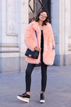 Pinterest : 20 façons de porter la fausse fourrure cette saison   Glamour
