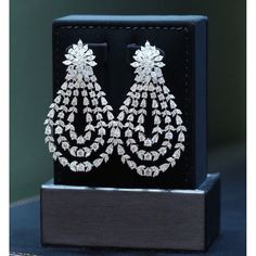 tw Diamond Stud Earring in White Gold (White) – Finest Jewelry Diamond Earrings Indian, Diamond Earing, Diamond Jewelry, Gold Jewelry, Jewelery, High Jewelry, Jewelry Accessories, Jewelry Design, India Jewelry