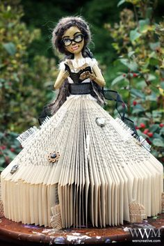 Josephine: Book Doll. $150.00, via Etsy.