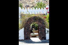 Korakia Pensione in Palm Springs. Main Entrance