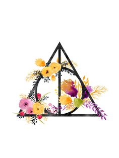 Life and Deathly Hallows Art Print by Snazzy Sisters
