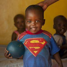 African kid in Superman T-Shirt Precious Children, Beautiful Children, Beautiful Babies, Beautiful People, African Babies, African Children, Faith In Humanity, Black Is Beautiful, Ethiopia