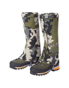 Keep your boots dry during hunts with KUIU gaiters. Our gaiters endure the toughest mountain hunting conditions. Hunting Rain Gear, Hunting Jackets, Hunting Boots, Elk Hunting, Hunting Tips, Archery Hunting, Insulated Gloves, Fishing Boots, Calf Socks