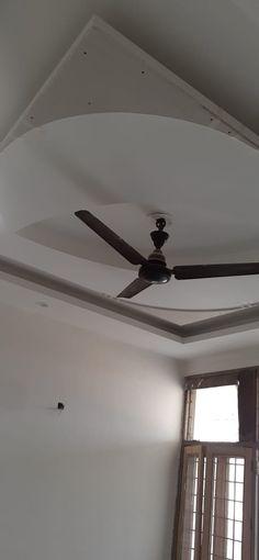 Bedroom False Ceiling Design, Bedroom Ceiling, Ceiling Fan, Ceiling Lights, Gypsum Ceiling, Tv Wall Design, Cots, Interior