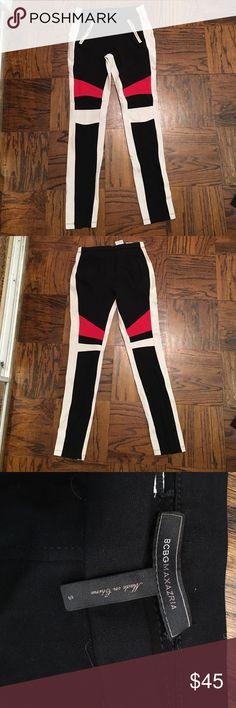 Awesome biker leggings Edgy leggings. Super slimming and very comfortable. BCBGMaxAzria Pants Leggings