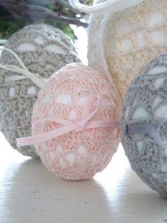 Shabby & Romantic: Crochet Eggs