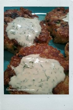 FODMAP Ninja: low fodmap crab cakes - http://fodmapninja.tumblr.com/post/19598716202/crab-cakes