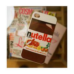 iPhone 4, 4S, 5 Nutella Jar Case Fun Food Themed