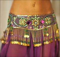 PoisonBabe's Belly Dance Belts and Customised Costumes.