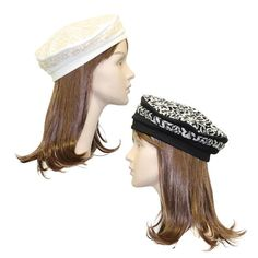 1ee1f8b36bedc Stylish Beret with Lace Overlay Berets