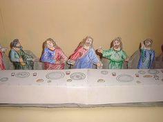 The Last Supper -- Egg Carton Craft.