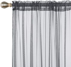 Deconovo Sheer Curtains - CountryCurtains Curtain Rods, Sheer Drapes, Light Filter, Rod Pocket Curtains, Roller Blinds, Soft Furnishings, Window Treatments