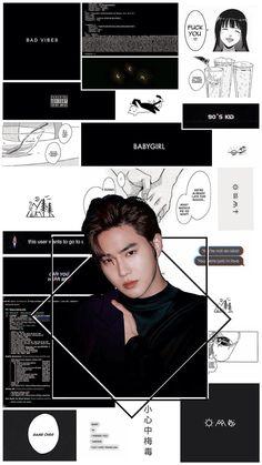 Suho Exo, Exo Do, Black Aesthetic Wallpaper, Aesthetic Wallpapers, Dance Kpop, Kim Joon Myeon, Exo Lockscreen, Exo Members, Band Aid