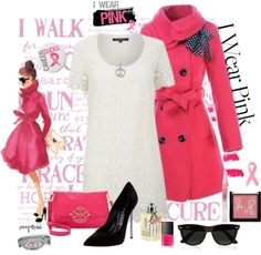 """""""I wear Pink"""" by exxpress ❤ liked on Polyvore"""