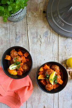Kefta Tajine mit Süßkartoffeln und Zitrone © Foodistas
