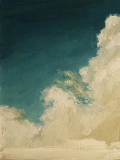 Kai Samuels-Davis / Rising Clouds, Extra Large Giclee Art Poster Print of Original Oil Painting Art And Architecture, Landscape Art, Love Art, Painting Inspiration, Art Photography, Art Gallery, Art Prints, Artwork, Photos