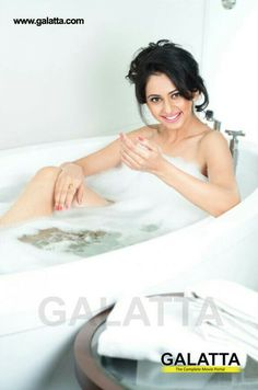 Rakul in Bathtub for Galatta Photoshoot