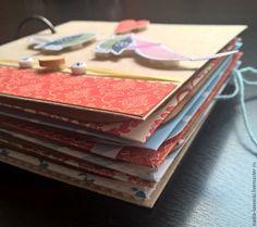 Мини-Альбом А&N - разноцветный, миниальбом, альбом для фото, альбом ручной работы LAVESSKI exclusive handmade