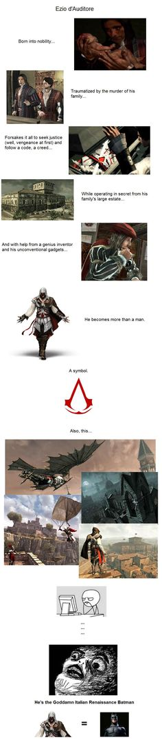 The Goddamn Assassin. I can't be the only one who realized this... - Imgur