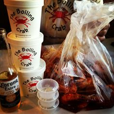 "The Boiling Crab (San Jose, CA) - ""Cajun"" food :)"