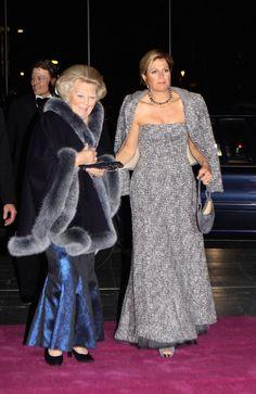 Dutch Royals at Holland Dance Festival  Princess Maxima and our Queen Beatrix